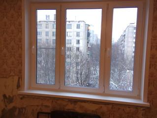 Монтаж окна на ул. Днепропетровская