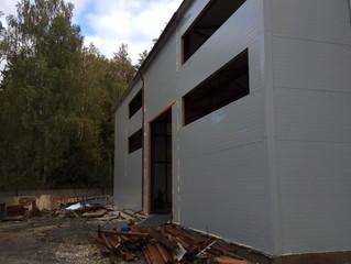 Установка окон на производственном предприятии в г. Ногинске