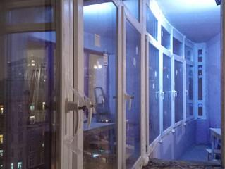 Замена остекления в квартире, по адресу Маршала Бирюзова, 32