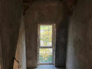 Окна с ламинацией. Частный дом в д. Мышецкое
