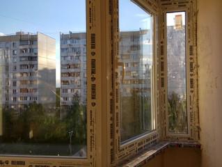 Остекление квартиры в Жулебино. Окна Rahau.