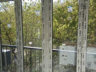 Остекление окна в пол Rehau в районе Хамовники