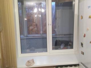Замена окна и балконного блока в квартире по адресу: Кавказский бульвар