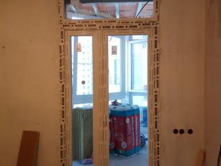 Штульповая балконная дверь по ул. Филевский бульвар