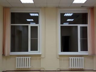 Монтаж окон в офисе, по адресу Варшавское шоссе, 125Д