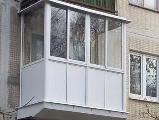 Усиление и вынос старого балкона