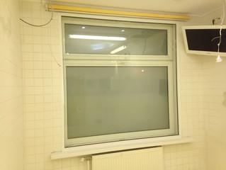 Установка окна с откосами в медицинском учреждении по адресу 2-й Тверской-Ямской переулок