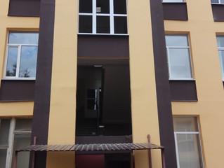 Замена окон в здании бизнес-центра по Варшавскому шоссе, д. 125Д
