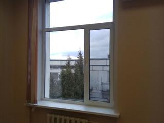 Установка 2-х окон в офисном здании на Варшавском шоссе