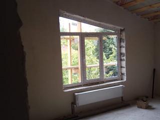 Установка окон с ламинацией в частном доме, д. Ямонтово