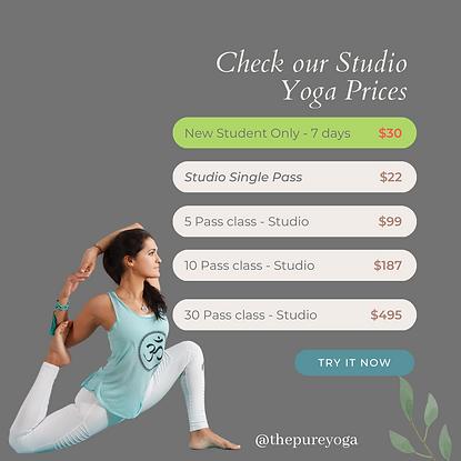 Prices studio yoga.png