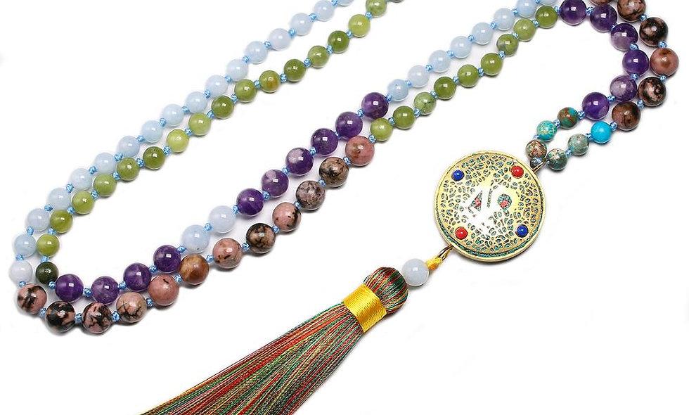 108 Beads Mala - Natural Stone Chakra Japa Meditation Spiritual Practices