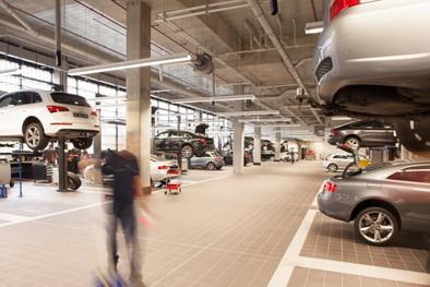 Tiled Workshop Floors