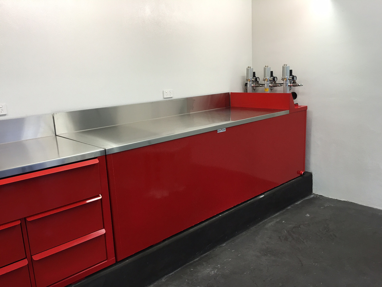 Custom Benches and Oil Tanks