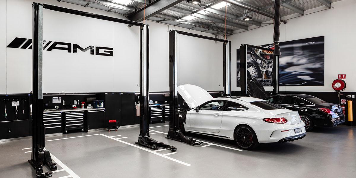 Automotive Workshop Fitouts