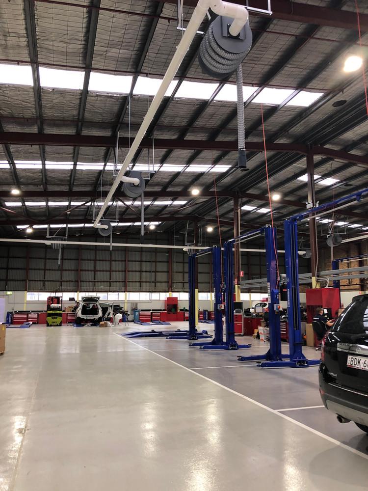 Automotive Workshop Fitout