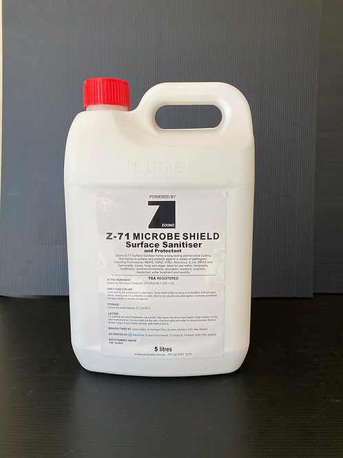Zoono Z-71 Microbe Shield - Concentrated Surface Sanitise