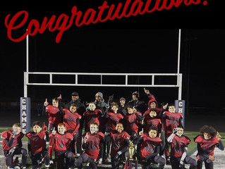 Talent Acquisition Concepts Sponsored Youth Football Team Wins Championship!