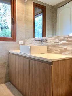 Baño residencia Lo Barnechea
