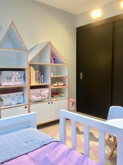 Dormitorio residencia Lo Barnechea
