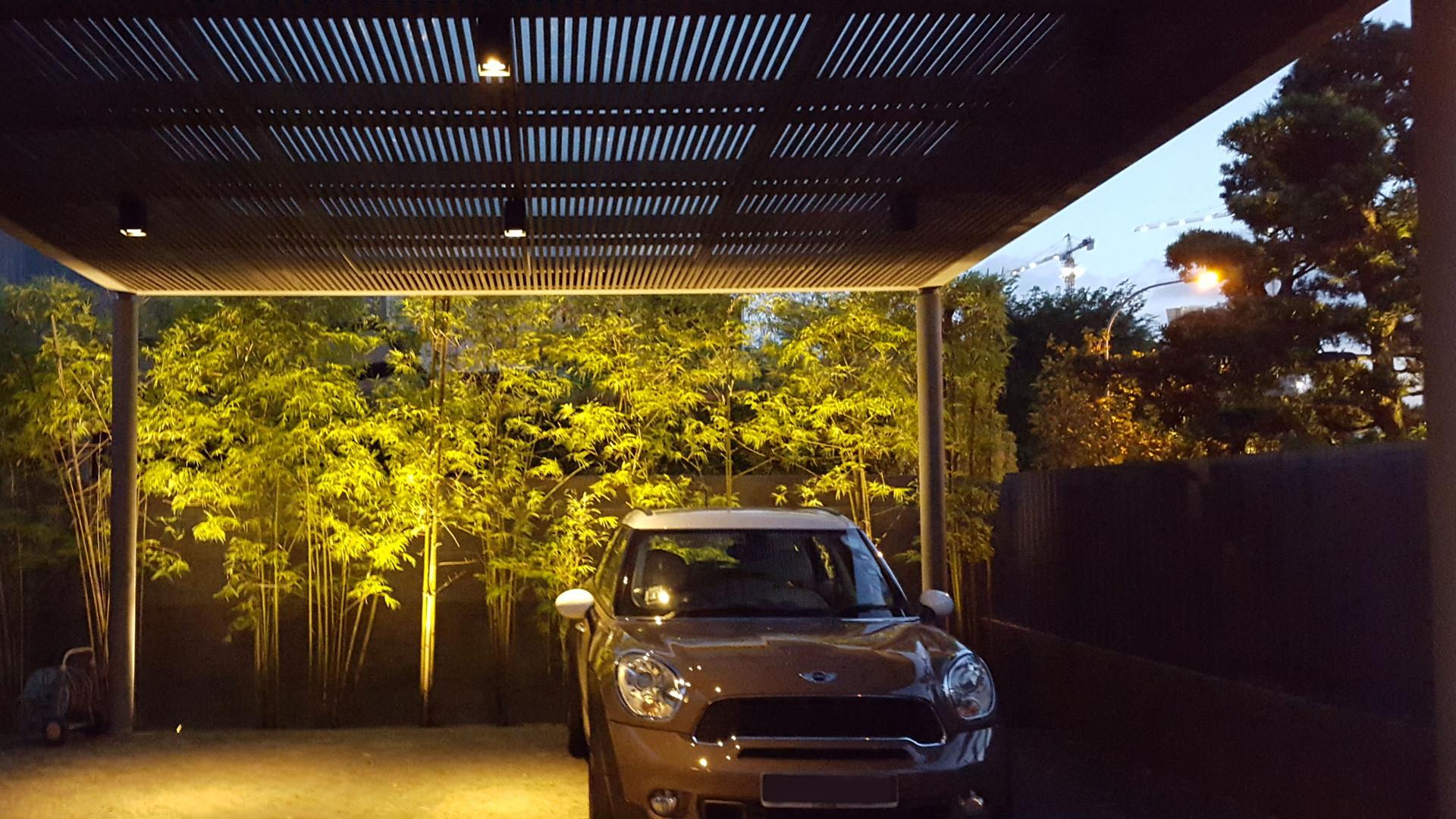 Lighting-Contrast Ratio-Residential Car