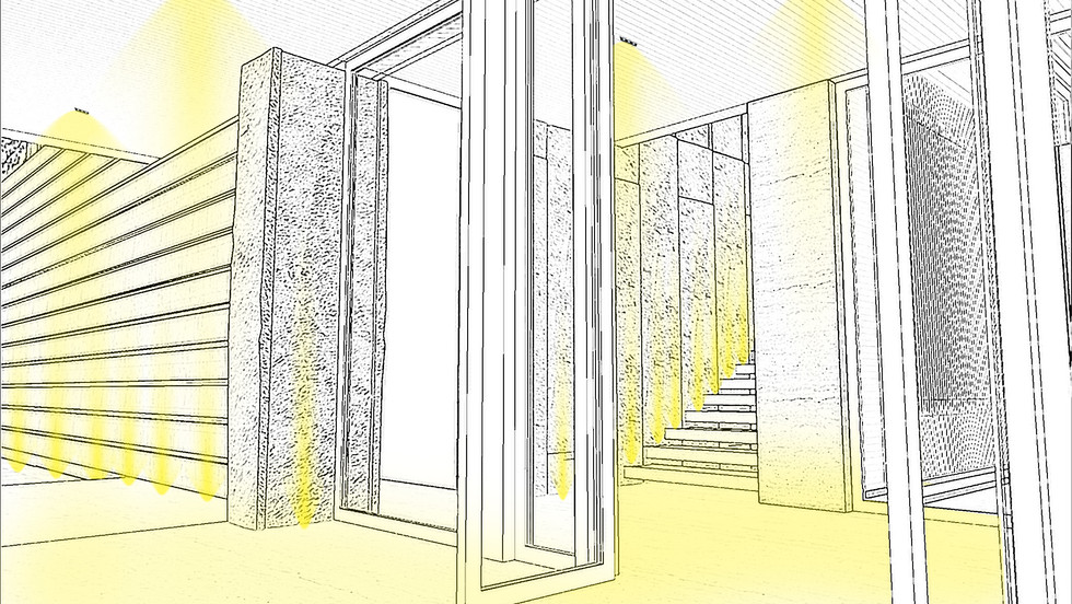 Lighting-Contrast Ratio-Residential Stai