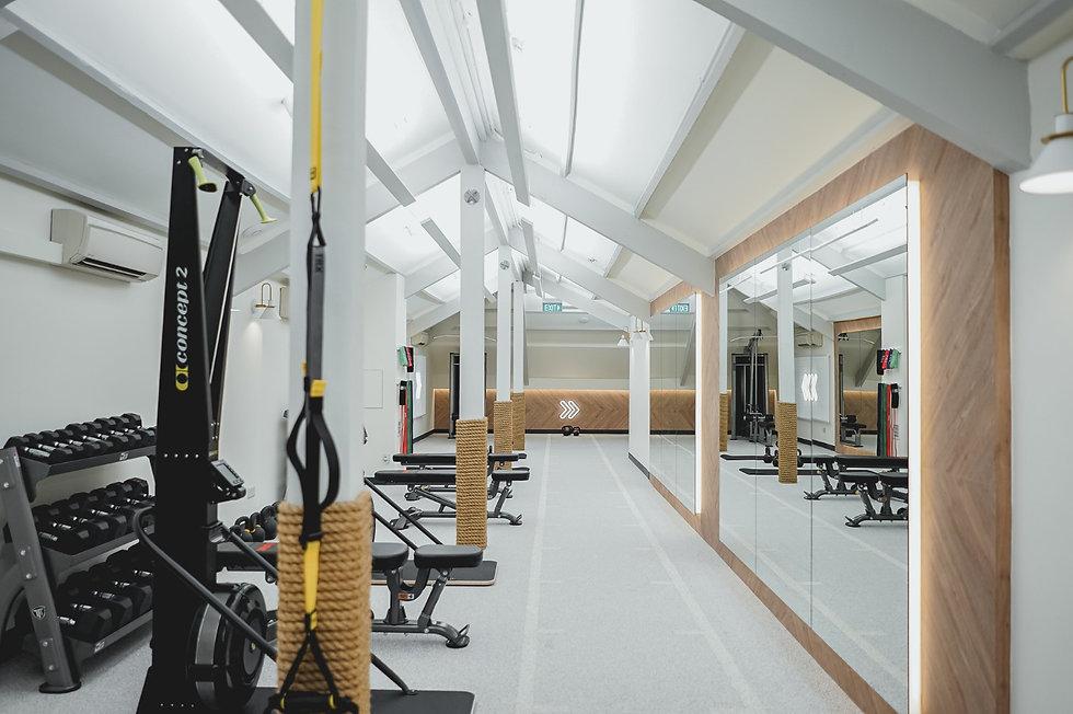 Lighting-Contrast Ratio-Gym Lighting-Clu