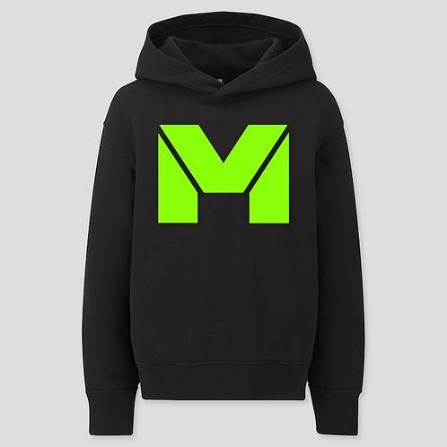Vet Muscle Blk/Lime Green Logo