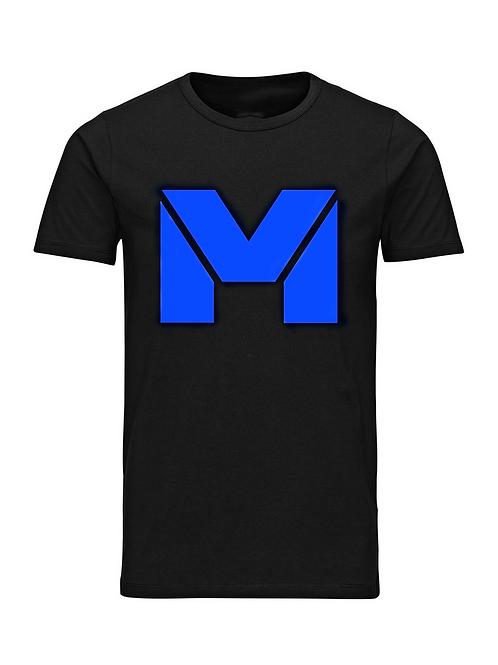 Vet Muscle T-Shirt Blk/Blue Logo