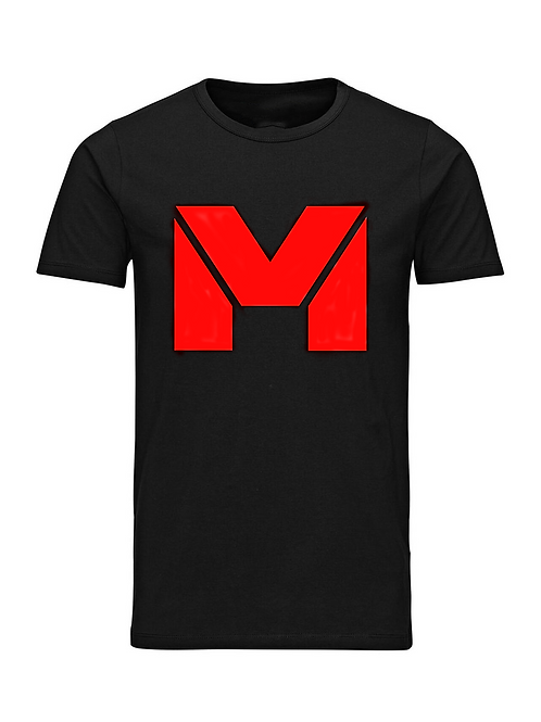 Vet Muscle T-Shirt Blk/Red Logo