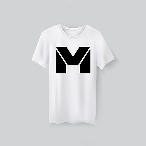 Vet Muscle T-Shirt Wht/Blk Logo