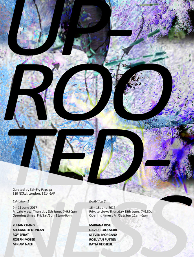Uprootedness Exhibiton