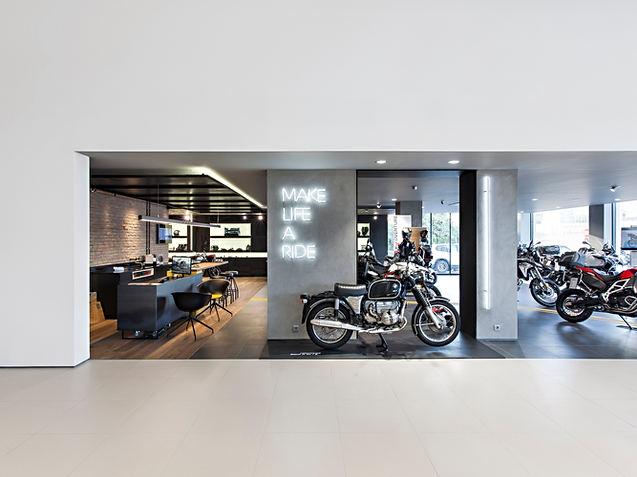 BMW MINI showroom & service point