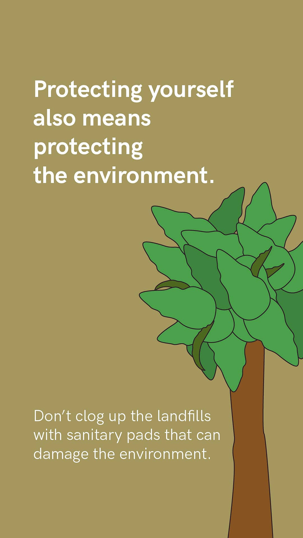 Protect environment using reusable pads