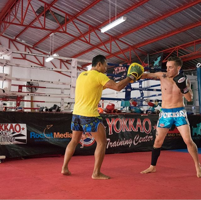 Training with _saenchaithailand _yokkao
