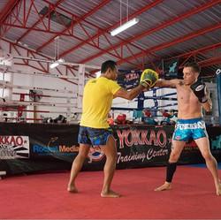 Training with _saenchaithailand _yokkao