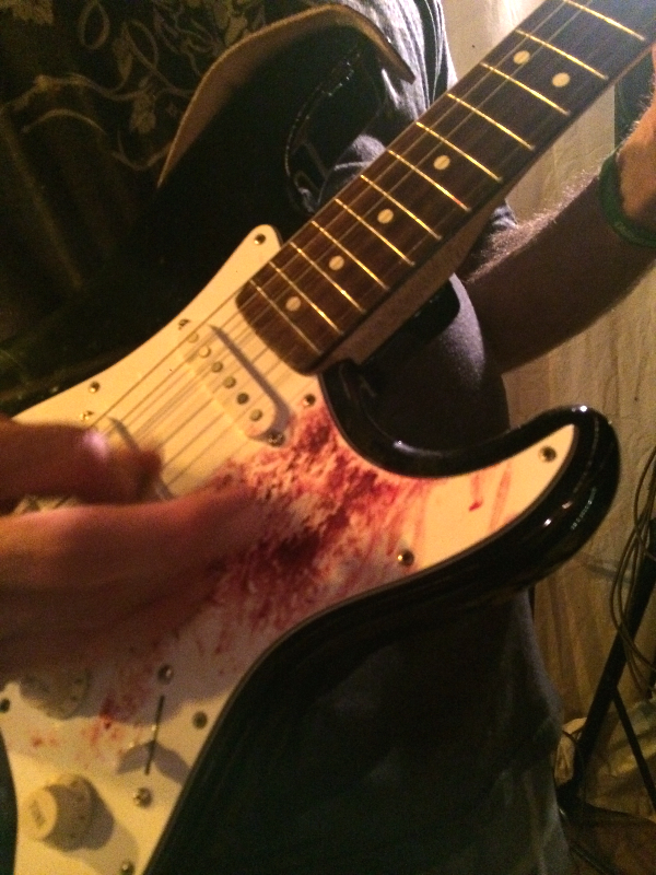 Play 'til they bleed!