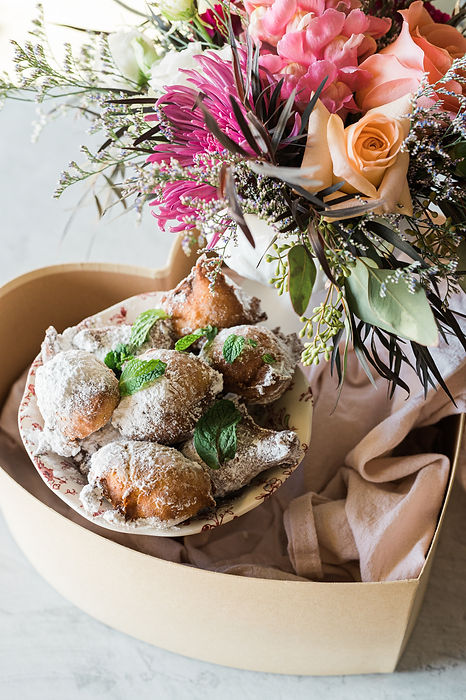 The Collective Company | Collaboration | BEIGNETS & BOUQUETS