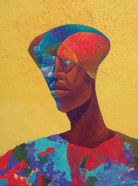 Man In African Attire