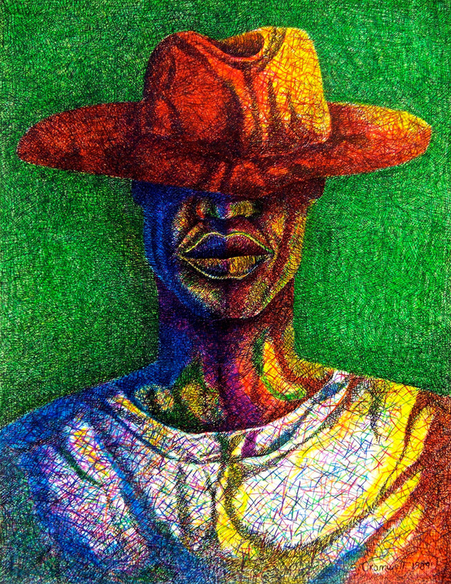 Portrait Of A Migrant Farmworker
