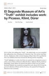 "2013.03.11 El Segundo Museum of Art's ""Truth"""