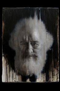 Karl Marx, Oil on canvas,41X31.5cm,2019