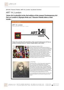 2014.04 ART 14 London