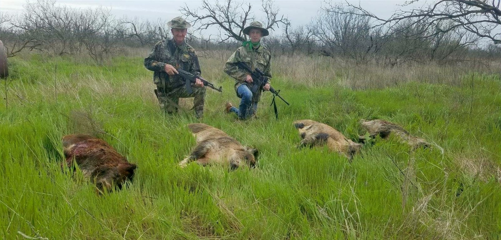 Lazy S Ranch Hog Hunting