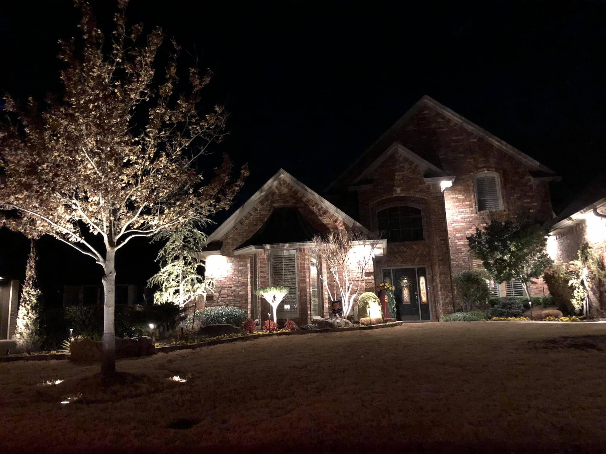 Landscape Lighting!