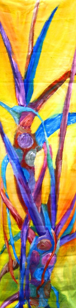 Colorful Acrylic Painting Tall