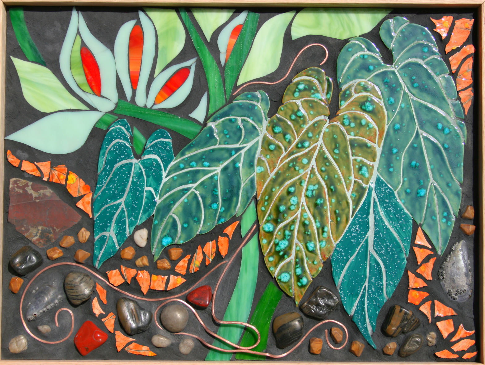 Chaos of Tropical Life II  Sold!