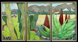 Southwest U.S.A. Triptych $3000