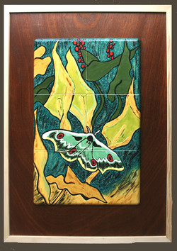 Ode to Van Gogh's Peacock Moth  $600