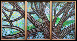 Crown of Glory Triptych  $2400 Sold!